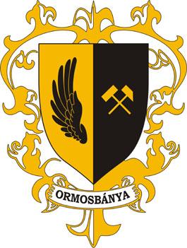 Ormosbánya település címere