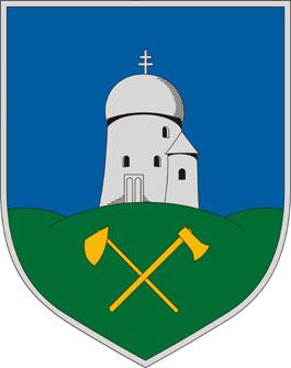 Öskü település címere