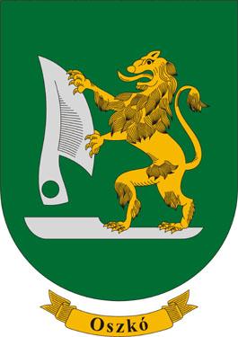 Oszkó település címere