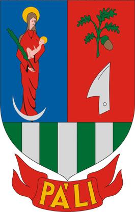 Páli település címere