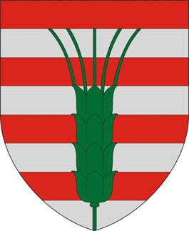 Pamuk település címere