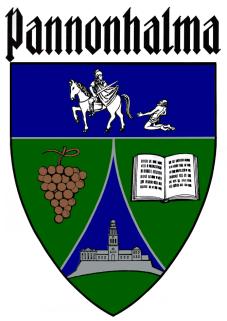 Pannonhalma település címere