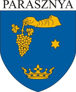 Parasznya település címere