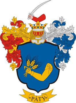 Páty település címere