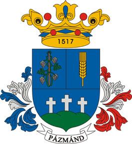 Pázmánd település címere