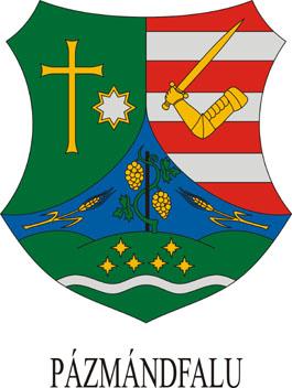 Pázmándfalu település címere