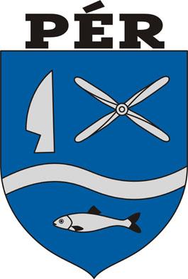 Pér település címere
