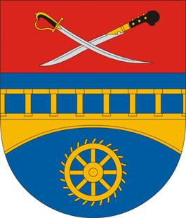 Péterhida település címere