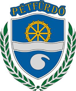 Pétfürdő település címere