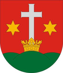 Porrogszentkirály település címere
