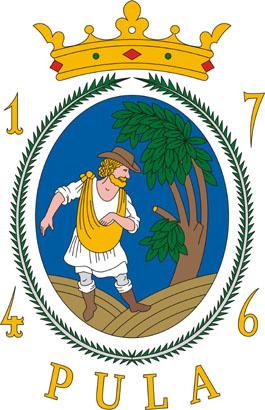 Pula település címere