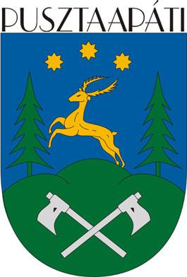 Pusztaapáti település címere