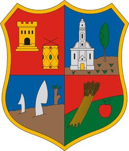Pusztadobos település címere