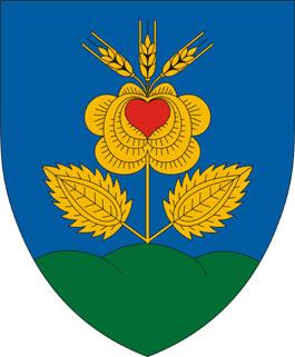 Rózsaszentmárton település címere
