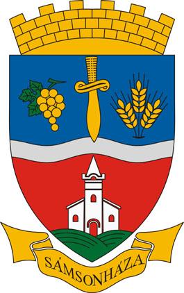 Sámsonháza település címere