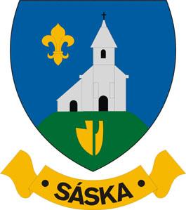 Sáska település címere