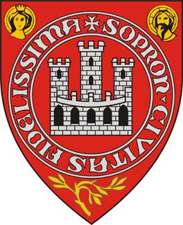 Sopron település címere