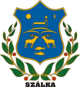 Szálka település címere