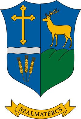 Szalmatercs település címere