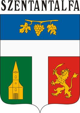 Szentantalfa település címere