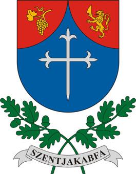 Szentjakabfa település címere