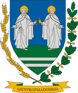 Szentkozmadombja település címere