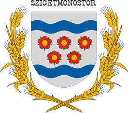 Szigetmonostor település címere