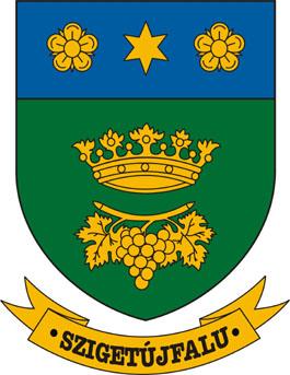 Szigetújfalu település címere