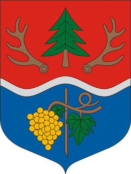 Szinpetri település címere