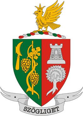 Szögliget település címere