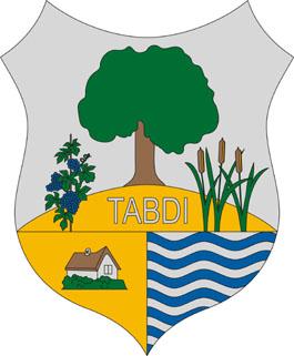 Tabdi település címere