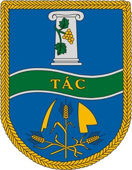 Tác település címere
