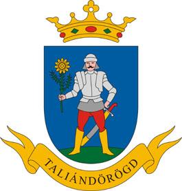 Taliándörögd település címere