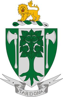 Tardona település címere