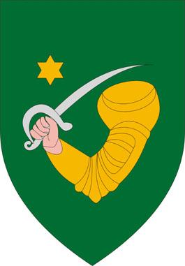 Téglás település címere