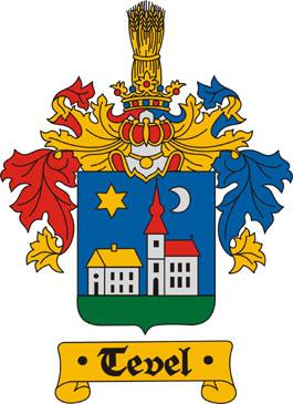 Tevel település címere