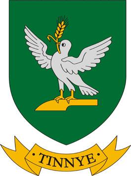 Tinnye település címere