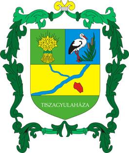 Tiszagyulaháza település címere