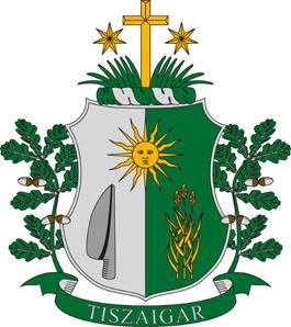 Tiszaigar település címere