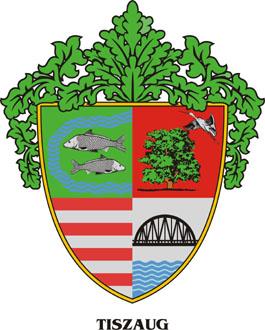 Tiszaug település címere