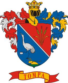 Tompa település címere
