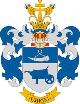 Újireg település címere