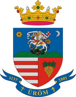 Üröm település címere