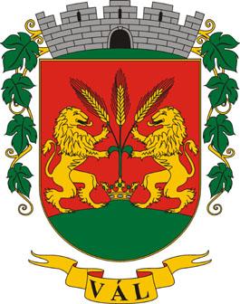 Vál település címere
