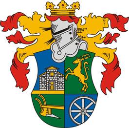 Vállus település címere