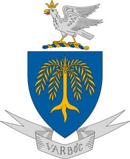 Varbóc település címere