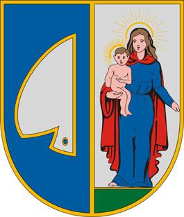 Vasboldogasszony település címere