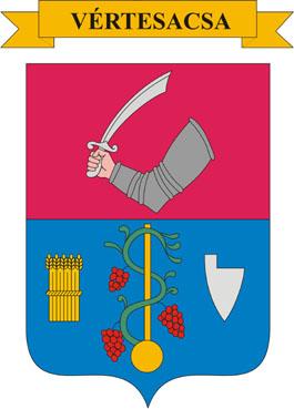 Vértesacsa település címere