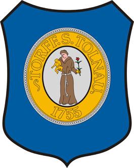 Vértestolna település címere