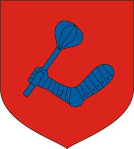 Vigántpetend település címere